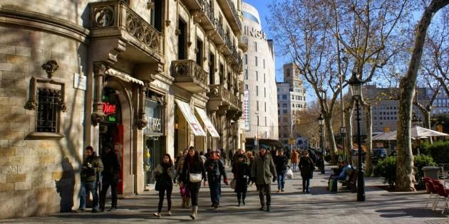 Рождество в Барселоне