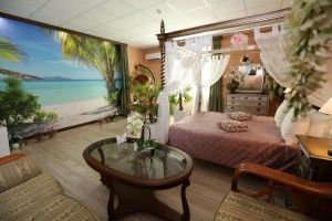 номер в отеле Romani, под названием Мальдивы