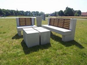 Особенности исполнения бетонных лавочек