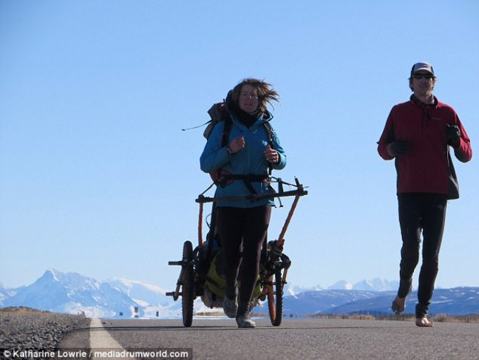 Босиком по Южной Америке: британская пара пробежала 10500 км