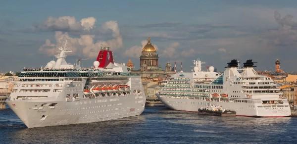 Иностранцы стали чаще бронировать круизы с заходом в Петербург