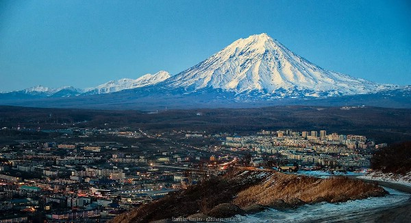 На Камчатке построят аэропорт в форме кратера вулкана