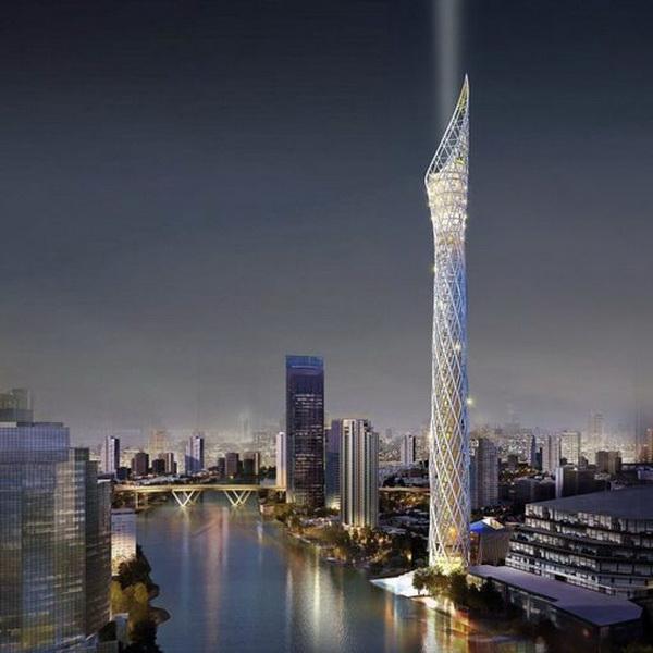 Таиланд строит высочайшую в Юго-Восточной Азии смотровую башню