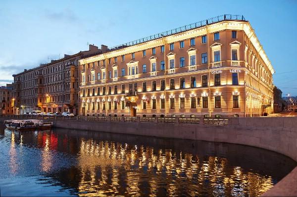 В Петербурге открылся Lotte Hotel