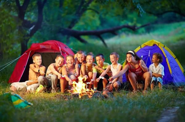 Более 200 тысяч детей отдохнули в палаточных лагерях России летом