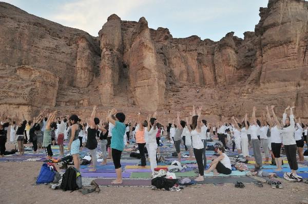 Фестиваль йоги в пустыне Арава пройдет в начале ноября