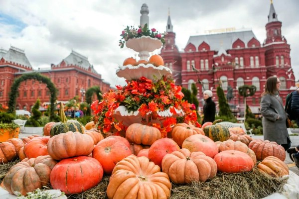 В Москве открывается гастрономический фестиваль «Золотая осень»