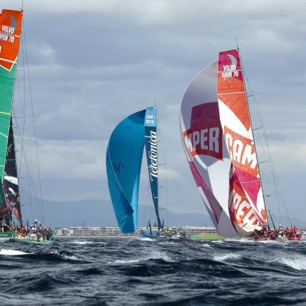 14 октября в Испании стартует кругосветная парусная регата Volvo Ocean Race