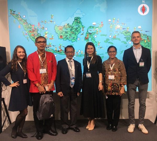 Индонезия приняла участие в 23-ей Международной Туристской Выставке Отдых Leisure 2017