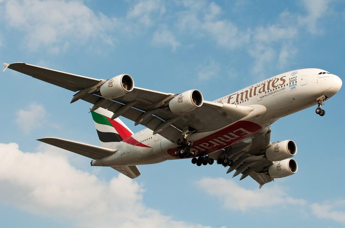 Лайнер Airbus A380 авиакомпании Emirates чуть не рухнул в Домодедово