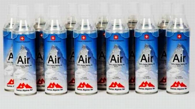 В итальянском Комо начали продавать альпийский воздух
