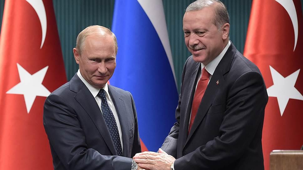 Владимир Путин: число туристов в Турции выросло в 11 раз