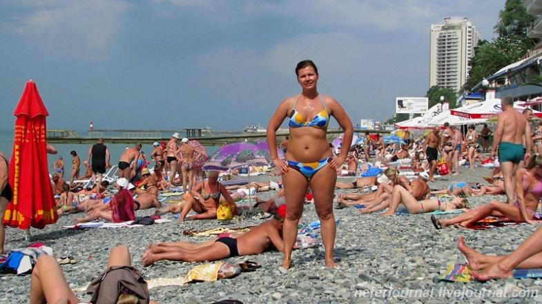 Мэр Сочи: курорт принял почти 3 млн туристов, Римини отдыхает
