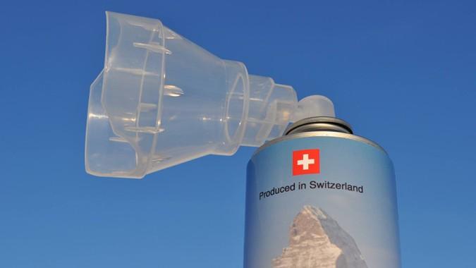 Швейцария тоже решила продавать фасованную «дорогую глупость»