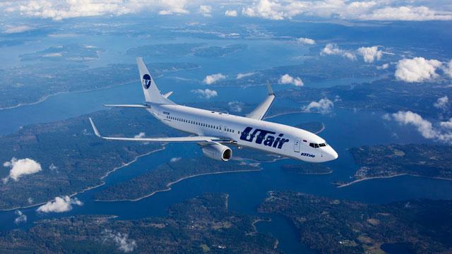 Авиакомпания UTair увеличит число международных рейсов в 3 раза