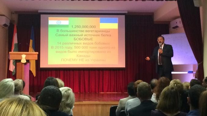Индия и Украина отметили 25 лет дружбы
