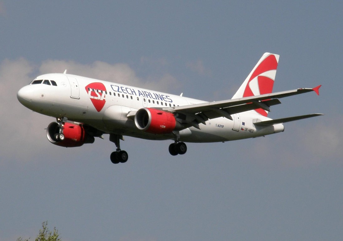 «Czech Airlines» увеличили на 30% пассажиропоток из России