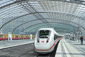Движение поездов в Германии восстановлено раньше срока