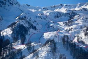 В Красной Поляне увеличится количество «красных» трасс