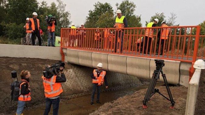 В Нидерландах на 3D-принтере напечатали мост