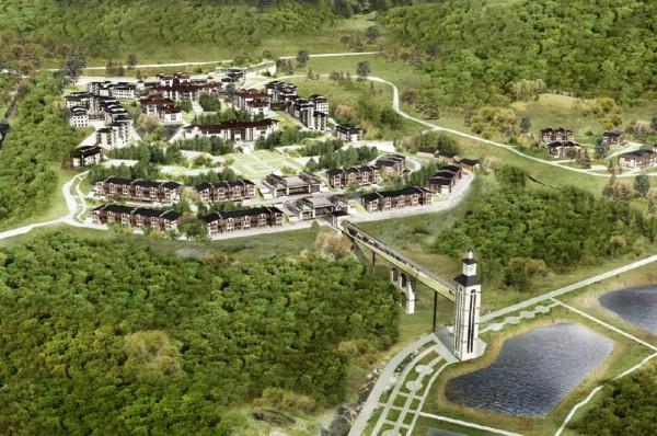 Первые отели на новом курорте «Белокуриха-2» заработают в 2018 году