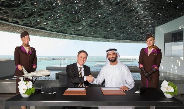 Etihad Airways подписала эксклюзивное платиновое соглашение о партнерстве с Лувром Абу-Даби