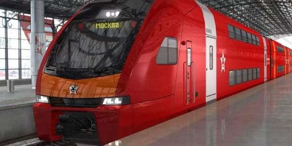 Компания «Аэроэкспресс» ввела в эксплуатацию первый двухэтажный поезд