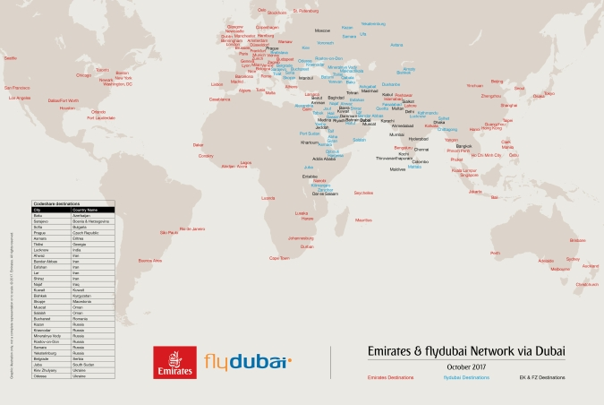 «Эмирейтс» и flydubai: путешествия со стыковкой в Дубае