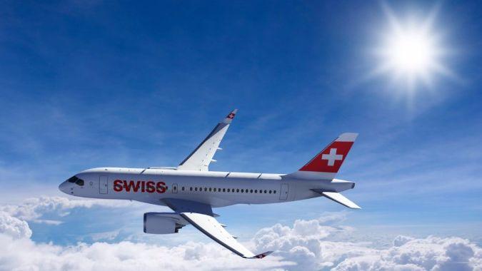 Swiss в марте снова полетит из Киева в Цюрих