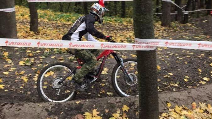 В Киеве открыли экстремальную трассу для велоэкстремалов