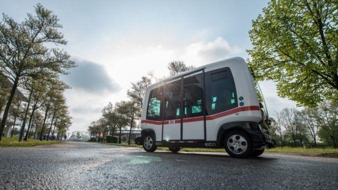 В Германии появится первый автономный автобус