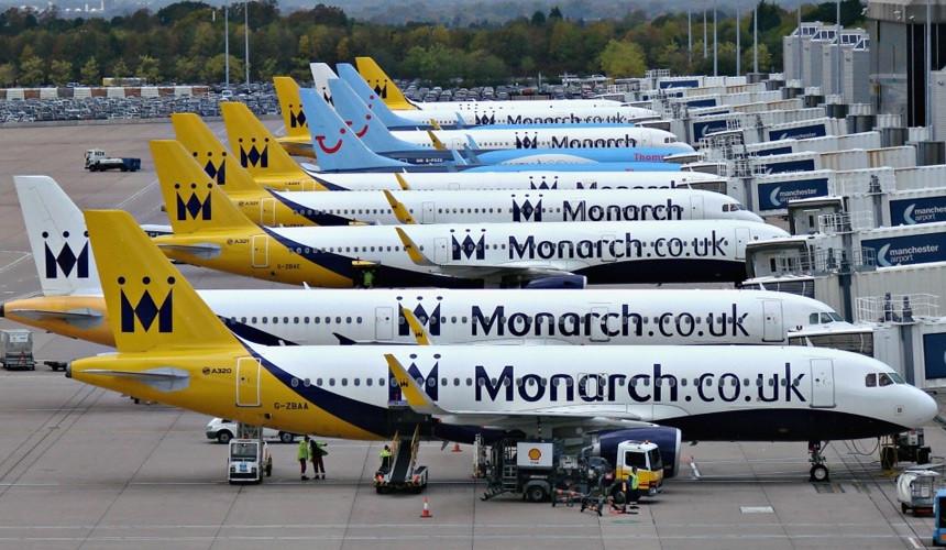 Британская Monarch Airlines объявила о приостановке деятельности