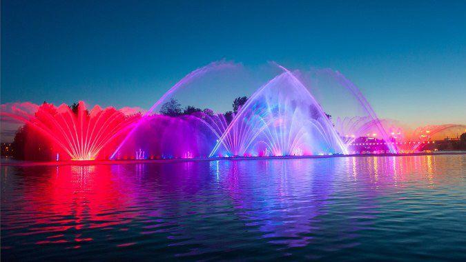 Винницкий фонтан закрывается