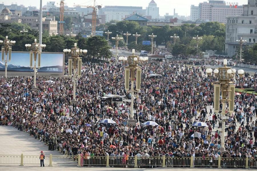 На «Золотую неделю» почти 500 млн китайцев выбрали внутренний туризм