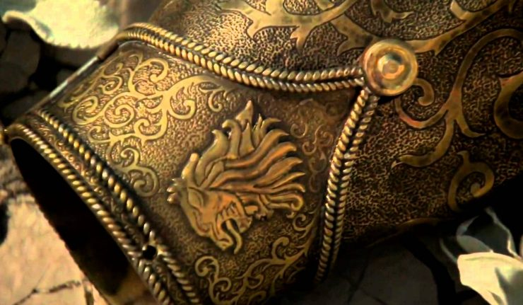 Золотую руку Джейме Ланнистера можно увидеть в Барселоне