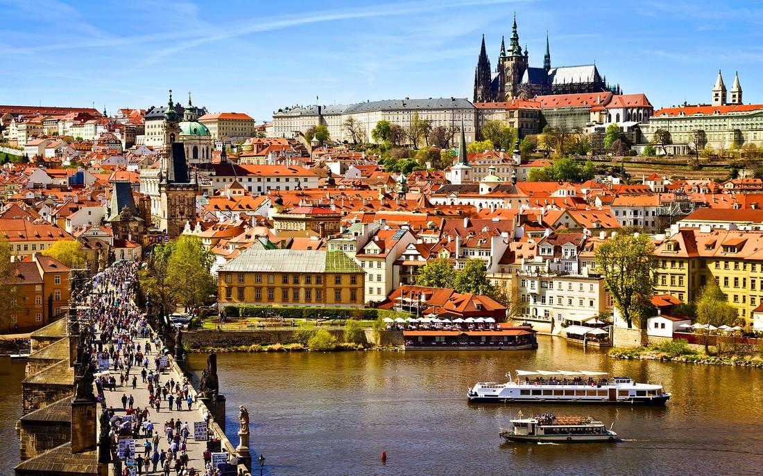 Самой любимой столицей Европы у российских туристов оказалась Прага