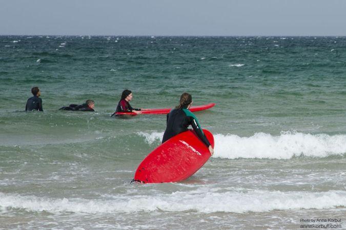 Покоряем волны. Серфинг осенью