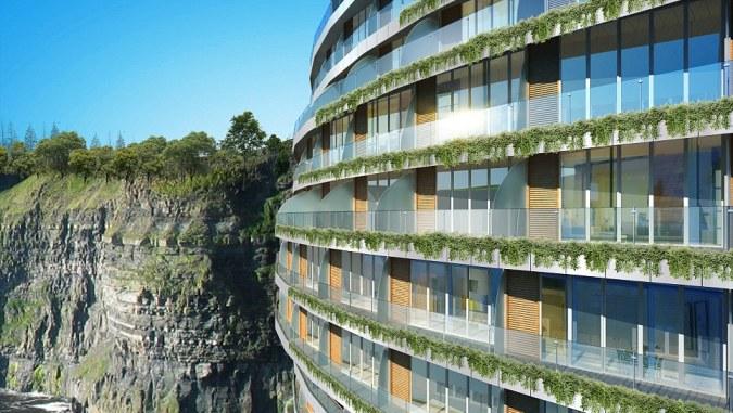 На дне шанхайского карьера откроют роскошный рекреационный комплекс