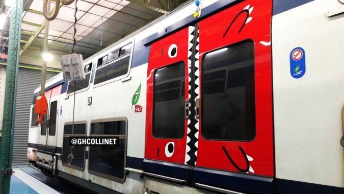 Во Франции двери поездов станут зубастыми