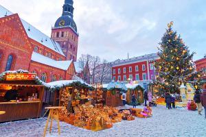 Куда дешевле всего поехать на Рождество?