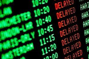 В Шереметьево задержаны десятки рейсов