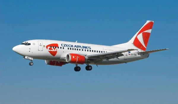 Czech Airlines увеличили на 30% пассажиропоток из России