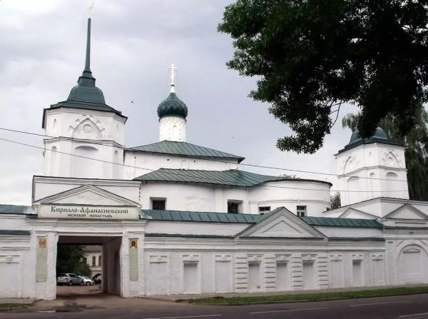 В Ярославле восстанавливают колокольню Кирилло-Афанасьевского монастыря