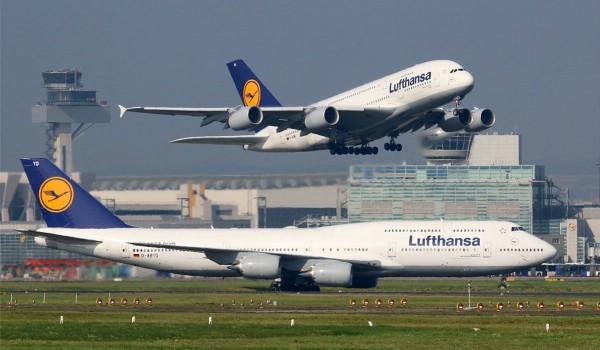 Спрос на рейсы Lufthansa в России вырос на 30%