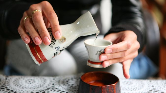 Японское саке можно вывозить безпошлинно, но есть нюансы