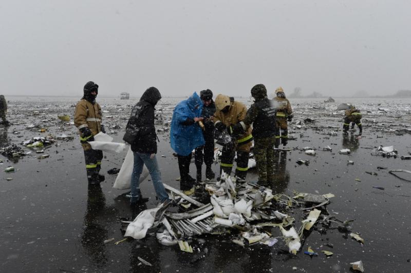 За разбившихся в Ростове туристов к FlyDubai предъявили иск в $10 млн