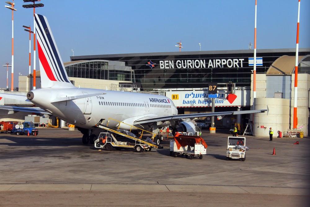 В аэропорту Тель-Авива торжественно встретили трехмиллионного туриста
