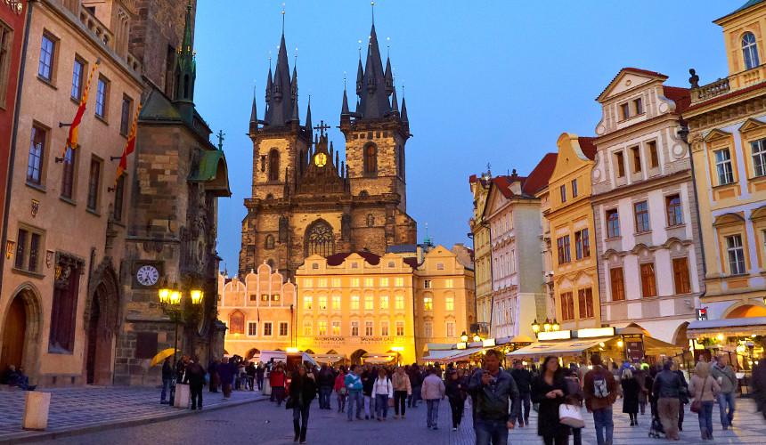 В Прагу – меньше чем за 15 тыс. руб.