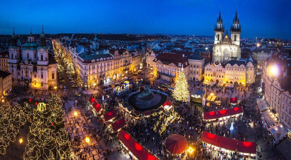 Прага названа самым популярным новогодним заграничным направлением среди россиян