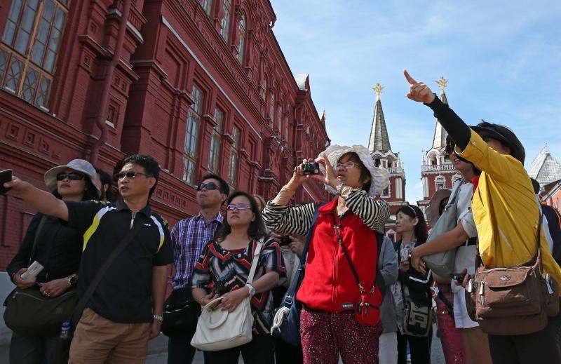 Москва и Петербург вошли в рейтинг самых посещаемых туристами городов